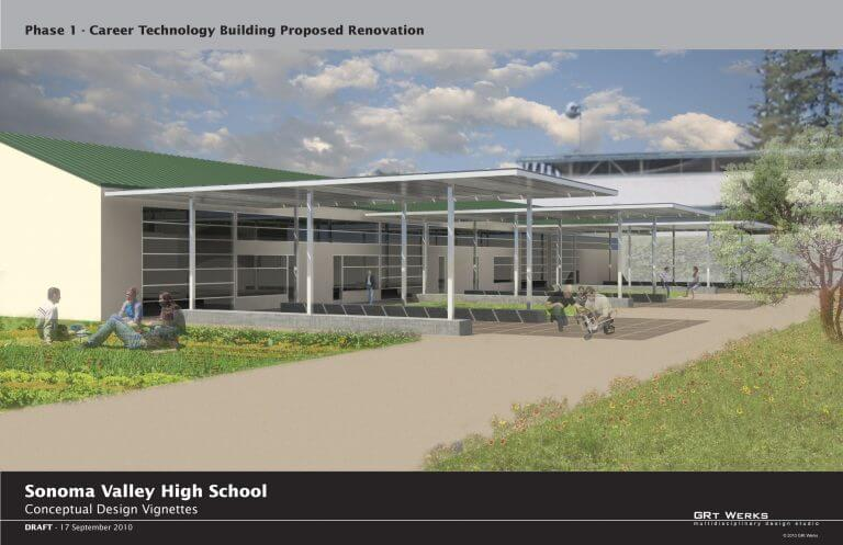 TBE Architecture - Sonoma Valley High School